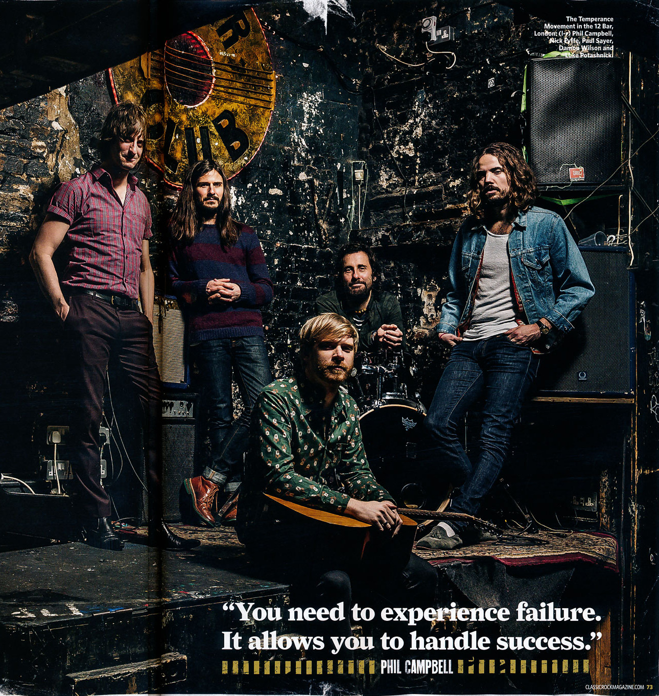 Classic Rock Magazine Feature May 2014