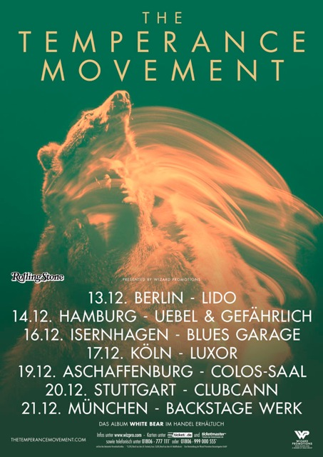 German tour poster