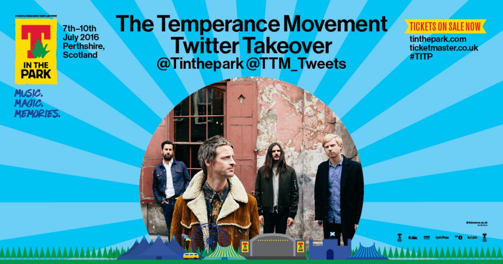 T In The Park Twitter Takeover